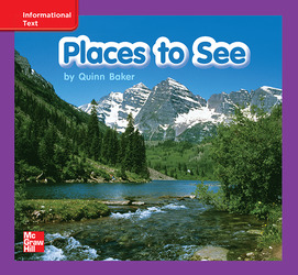 Reading Wonders Leveled Reader Places to See: ELL Unit 8 Week 2 Grade K