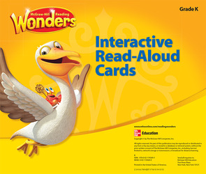 Reading Wonders Interactive Read-Aloud Cards Grade K