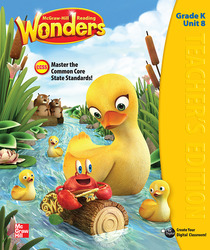 Reading Wonders, Grade K, Teacher's Edition Volume 8