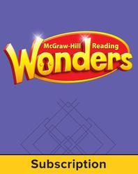 Reading Wonders, Grade 5, Reading/ Writing Workshop w/6 Year Subscription