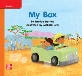 Reading Wonders Leveled Reader My Box: Approaching Unit 10 Week 2 Grade K
