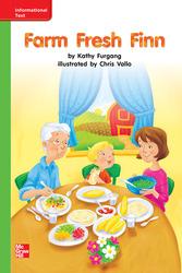 Reading Wonders Leveled Reader Farm Fresh Finn: Beyond Unit 5 Week 3 Grade K