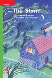 Reading Wonders Leveled Reader The Storm: Beyond Unit 6 Week 3 Grade K