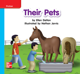 Reading Wonders Leveled Reader Their Pets: On-Level Unit 7 Week 2 Grade K