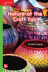 Reading Wonders Leveled Reader Nature at the Craft Fair: Beyond Unit 9 Week 3 Grade K