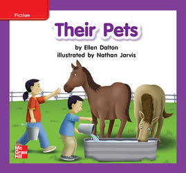 Reading Wonders Leveled Reader Their Pets: ELL Unit 7 Week 2 Grade K
