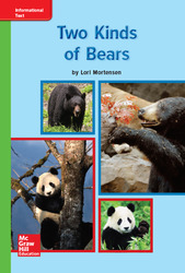 Reading Wonders Leveled Reader Two Kinds of Bears: Beyond Unit 7 Week 1 Grade K