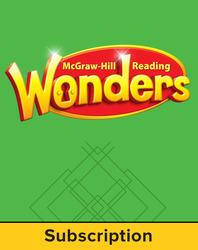 Reading Wonders, Grade 4, Teacher Workspace (6 Year Subscription), Grade 4