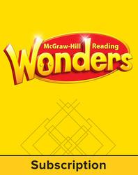 Reading Wonders, Grade K, Teacher Workspace (6 Year Subscription)
