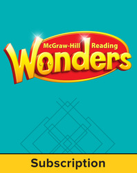 Reading Wonders, Grade 2, Student Workspace 6 Year Subscription