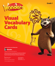 Reading Wonders, Grade 1, Visual Vocabulary Cards
