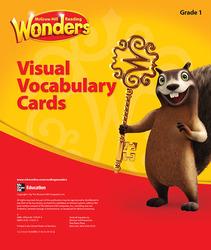 Reading Wonders, Grade 1, Visual Vocabulary Cards