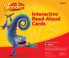 Reading Wonders, Grade 1, Interactive Read Aloud Cards