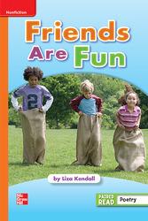 Reading Wonders Leveled Reader Friends Are Fun: Approaching Unit 1 Week 4 Grade 1