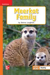 Reading Wonders Leveled Reader Meerkat Family: Approaching Unit 2 Week 3 Grade 1