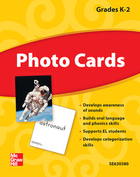 Reading Wonders, Grade K, Photo Cards Grade K-2