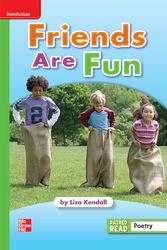 Reading Wonders Leveled Reader Friends Are Fun: Beyond Unit 1 Week 4 Grade 1