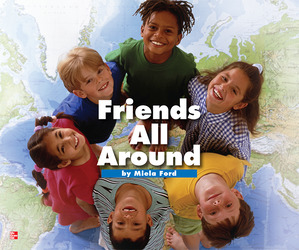 Reading Wonders Literature Big Book: Friends All Around Grade 1