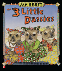 Reading Wonders Literature Big Book: Three Little Dassies Grade 1