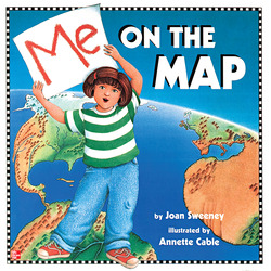 Reading Wonders Literature Big Book: Me on the Map Grade 1