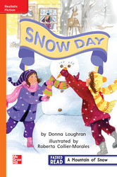 Reading Wonders Leveled Reader Snow Day: Approaching Unit 6 Week 3 Grade 1