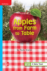 Reading Wonders Leveled Reader Apples from Farm to Table: On-Level Unit 3 Week 5 Grade 1