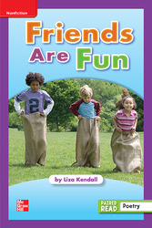 Reading Wonders Leveled Reader Friends Are Fun: ELL Unit 1 Week 4 Grade 1