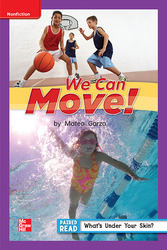 Reading Wonders Leveled Reader We Can Move!: ELL Unit 1 Week 5 Grade 1