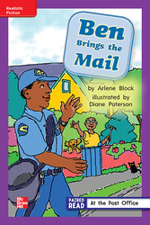 Reading Wonders Leveled Reader Ben Brings the Mail: ELL Unit 2 Week 1 Grade 1