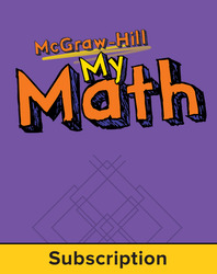 McGraw-Hill My Math, Grade 5, Online eStudent Edition, 1 year subscription