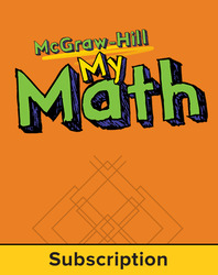 McGraw-Hill My Math, Grade 3, Online eStudent Edition, 1 year subscription