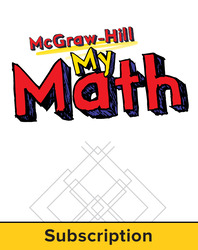 McGraw-Hill My Math, Grade 1, Online eStudent Edition, 1 year subscription