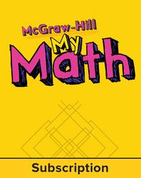 McGraw-Hill My Math, Grade K, eStudent Edition, 1 year subscription