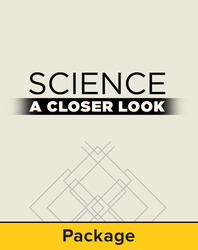 Science, A Closer Look, Grade  K-2 Essentials, Space Package #5