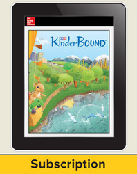 KinderBound Online Assessment Subscription (1 teacher), 1-year