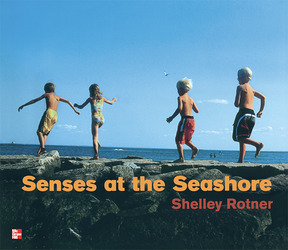 Reading Wonders Literature Big Book: Senses at the Seashore Grade K