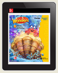 Reading Wonders Florida Teacher Workspace, 5-Year Subscription Grade K