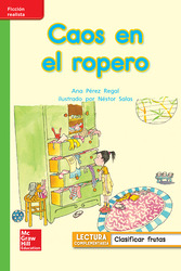 Lectura Maravillas Leveled Reader Caos en el ropero: Beyond Unit 5 Week 1 Grade 1