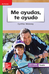 Lectura Maravillas Leveled Reader Me ayudas, te ayudo: Beyond Unit 6 Week 2 Grade 1