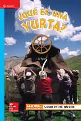 Lectura Maravillas Leveled Reader ¿Qué es una yurta?: On-Level Unit 5 Week 5 Grade 1