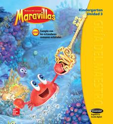 Lectura Maravillas, Grade K, Teachers Edition Volume 3