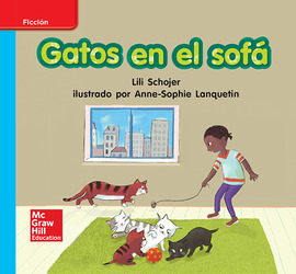Lectura Maravillas Leveled Reader Gatos en el sofá: On-Level Unit 7 Week 2 Grade K
