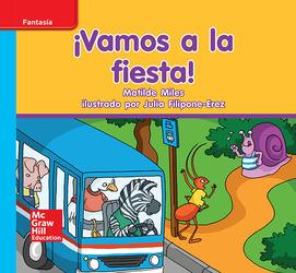Lectura Maravillas Leveled Reader ¡Vamos a la fiesta!: On-Level Unit 8 Week 1 Grade K