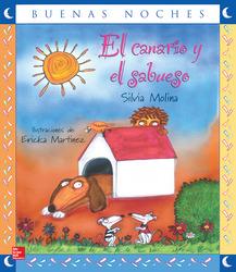 Lectura Maravillas Literature Big Book: The Canary and the Hound Grade 1