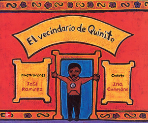 Lectura Maravillas Literature Big Book: Quinito's Neighborhood Grade 1