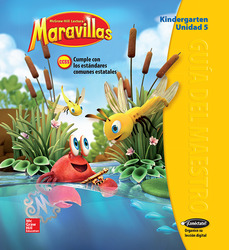 Lectura Maravillas, Grade K, Teachers Edition Volume 5