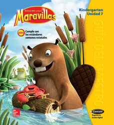 Lectura Maravillas, Grade K, Teachers Edition Volume 7