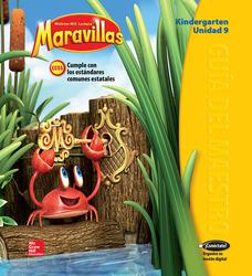 Lectura Maravillas, Grade K, Teachers Edition Volume 9