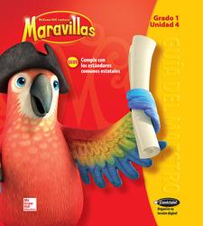 Lectura Maravillas, Grade 1, Teacher's Edition Volume 4
