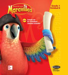 Lectura Maravillas, Grade 1, Teacher's Edition Volume 6